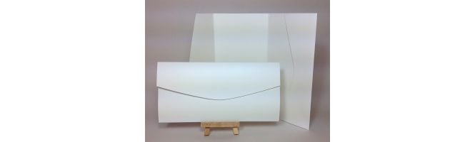 Advocate Ivory 250gsm 210x105mm POCKETFOLDS