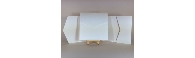 Advocate Ivory 330gsm 150x150mm POCKETFOLDS